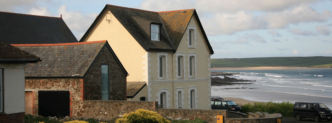 View of Craig Var And The Chauffeurs Cottage With Beach Beyond