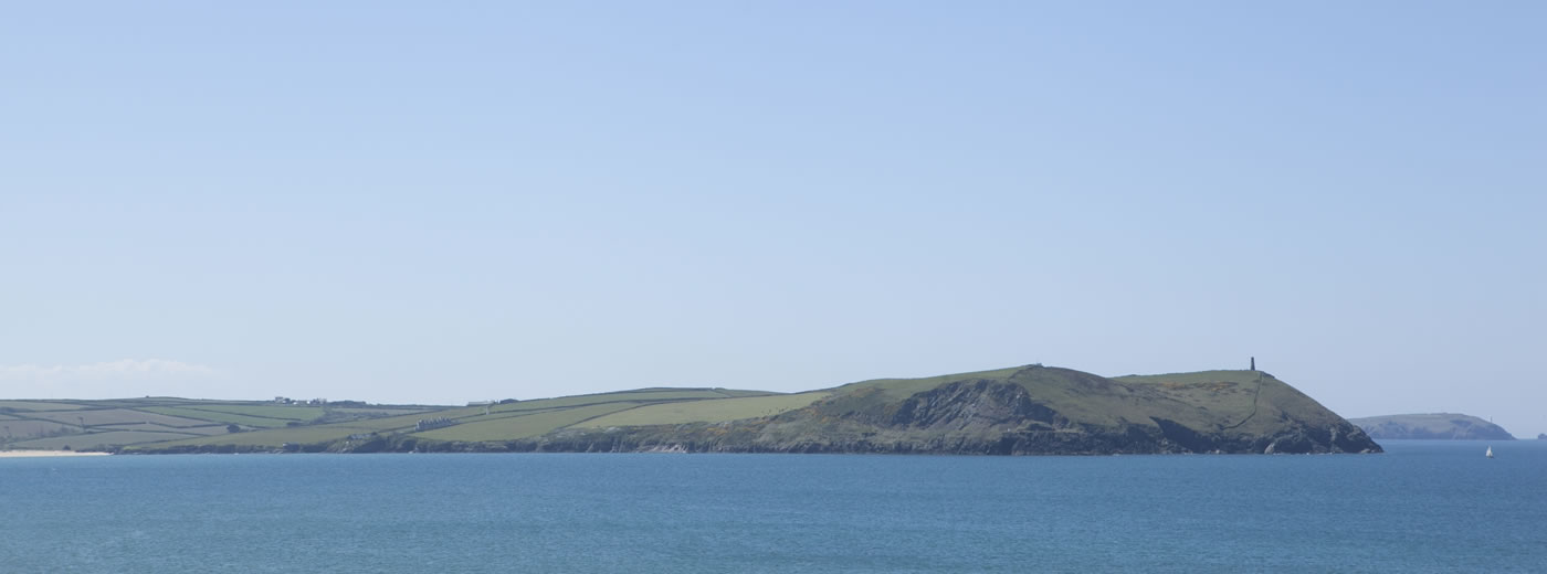 A View Across The Bay At Polzeath
